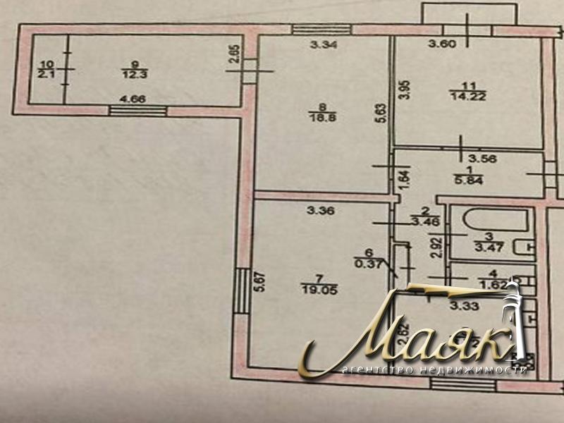 Продается 2х комн. квартира внутри квартала по ул. Запорожская.