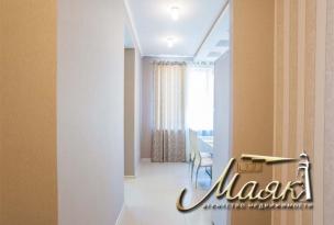 Трехкомнатная квартира в комплексе Бородино.
