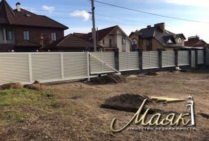 Новый дом в Днепровском районе.