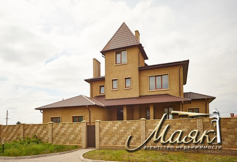 Дом в Бородинском мкр-не под чистовую отделку на закрытой охраняемой территории.