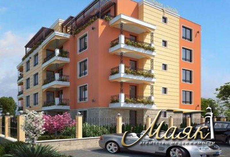 Комплекс представляет собой 5-ти этажное здание с 36 апартаментами