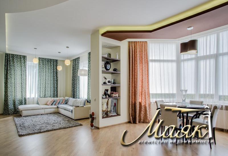 Квартира в новостройке: двухуровневая квартира с видом на Днепр, Днепровский
