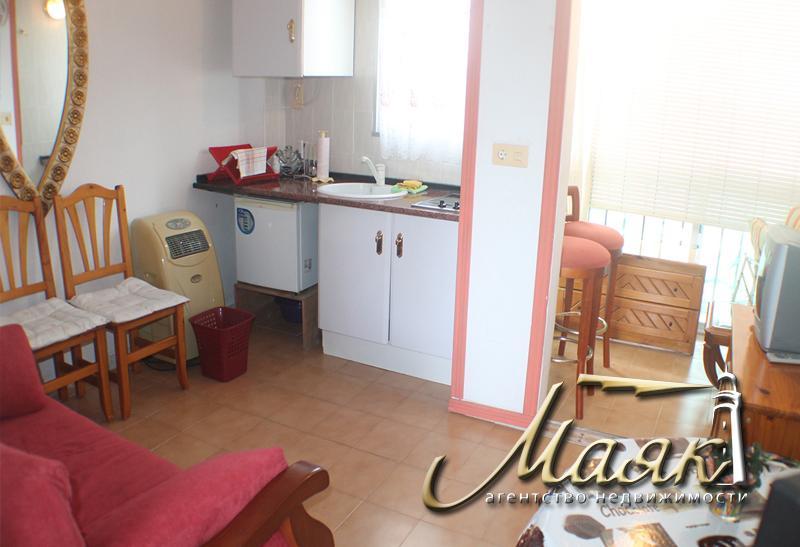 Продается уютная студия в Ла Мата (Приморский район города Торревьха)