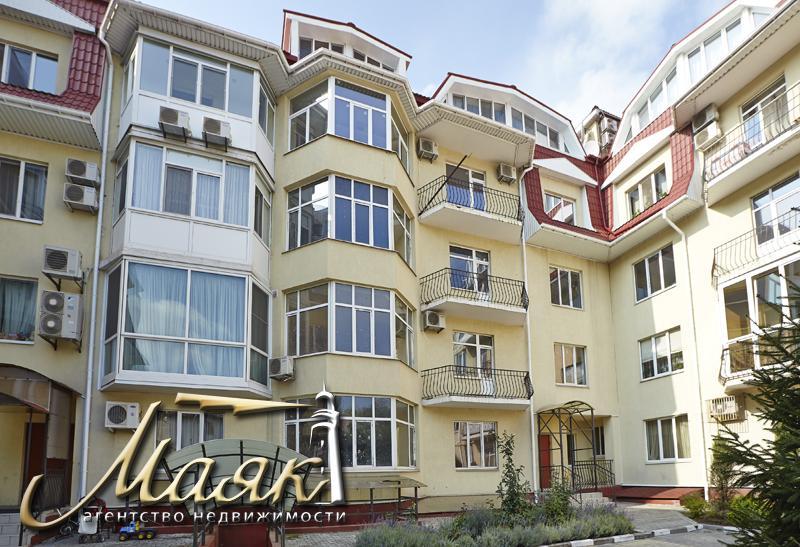 Квартира в новострое по улице Рижской.