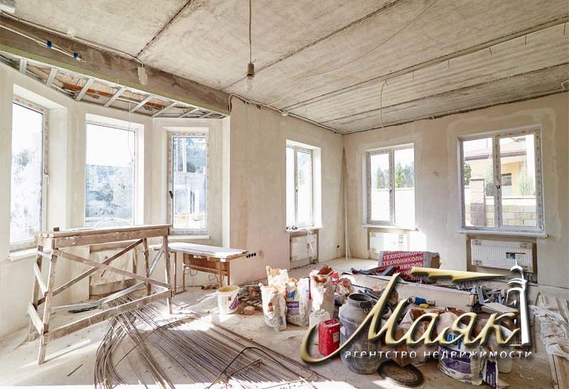 Дом под чистовую отделку на Великом лугу